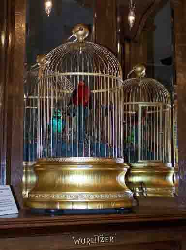 Bontems singing birds on the Wurlitzer Style 33-A PianOrchestra, circa 2008.