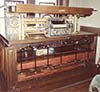 The lower main chassis of the Welte orchestrion.