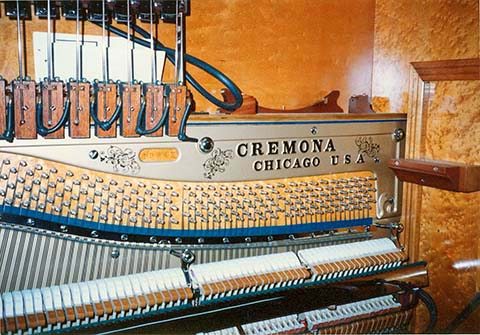 Piano in the Cremona Style J Orchestrion.