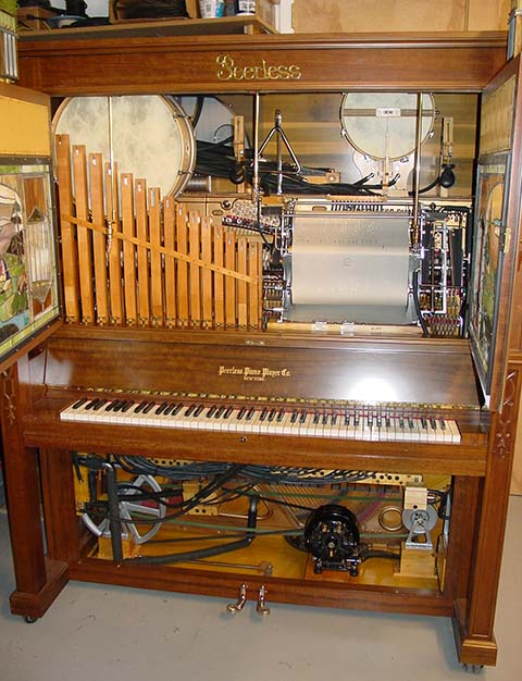 Unrestored Peerless Arcadian Orchestrion.