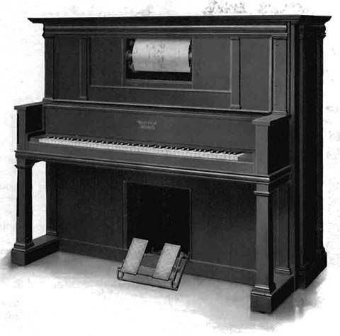 Apollo Style L upright piano.