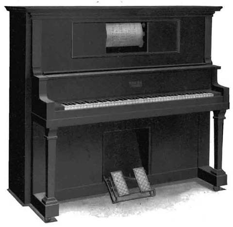 Apollo Style O upright piano.