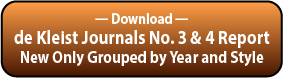 Download the deKleist Journals New Instruments Grouped by Year and Style Report.