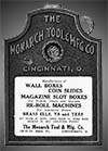 Monarch Tool & Mfr. Company Advertisement.