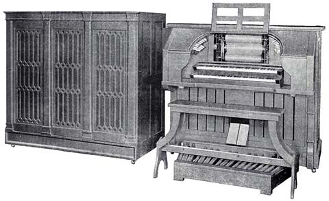 Reproduco Unified Theatre Organ.