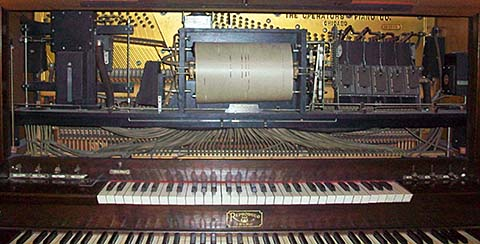 Roll frame for Standard Reproduco Player Pipe Organ #282965.