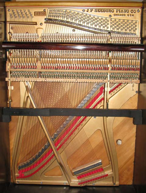 Seeburg's 54-note piano used in many Seeburg keyboardless styles L, C (Xylophonian), and Greyhound pianos.