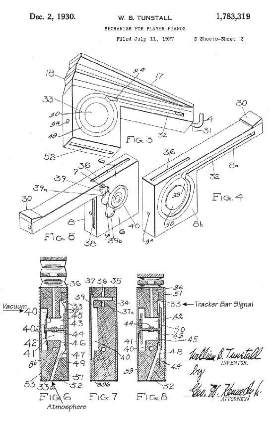 Drawing from U.S. Patent #1,783,319, filed July 11, 1927.