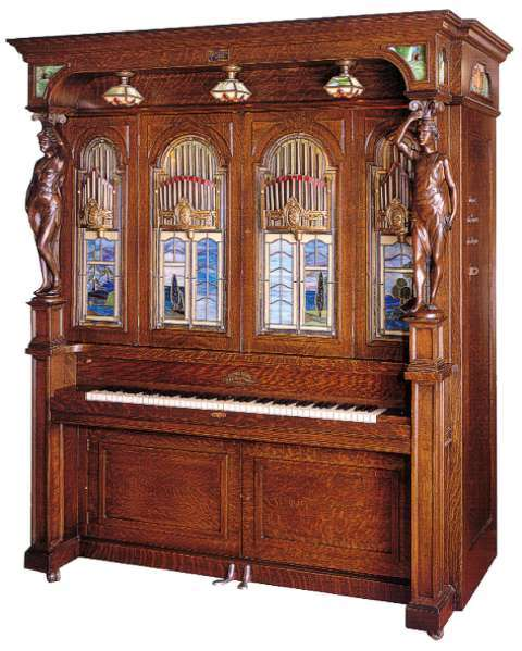 Seeburg Style H Solo Orchestrion (Krughoff Collection).