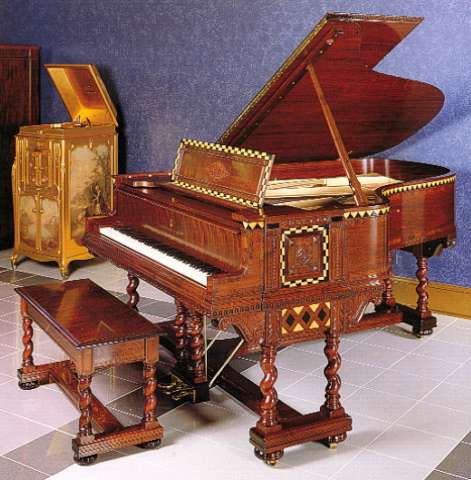 Steinway Duo-Art Model AR Reproducing Piano (Sanfilippo Collection).